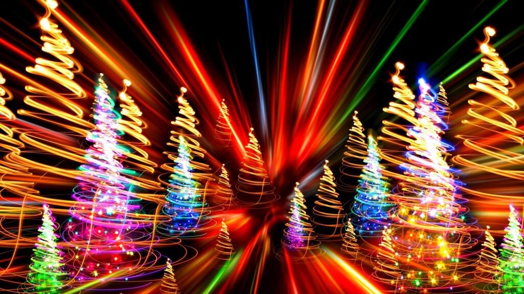 Волшебство новогодних огней!